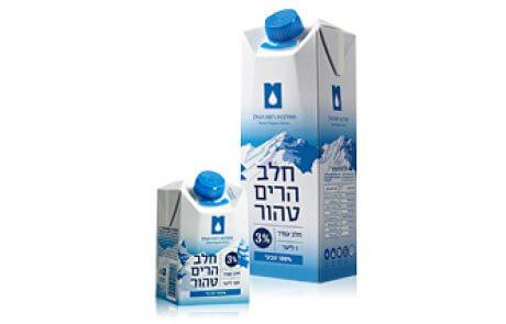 חלב הרים טהור 3% ליטר + 500 מ״ל