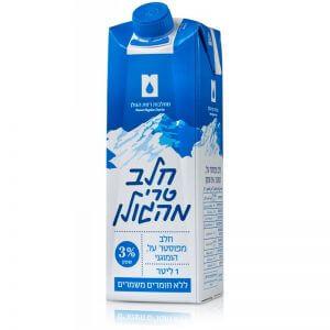חלב טרי מהגולן 1 ליטר 3%
