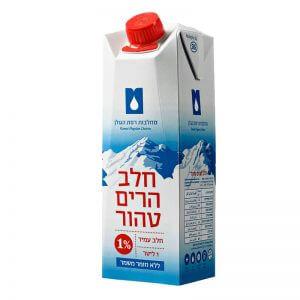חלב עמיד 1% מחלבות רמת הגולן
